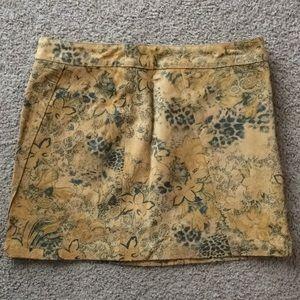 Express genuine leather mini skirt. Size 2
